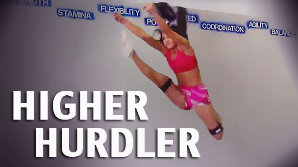 Higher Hurdler With Kinetic Bands